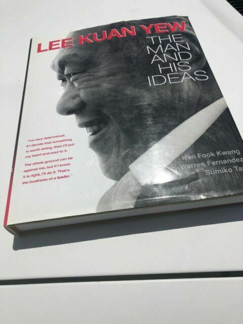 Lee Kuan Yew The Man And His Ideas 1998 Hardcover For Sale Online Ebay