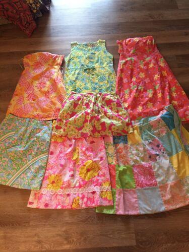 Vtg Vintage The Lilly Pulitzer Skirt Dress Lot Of