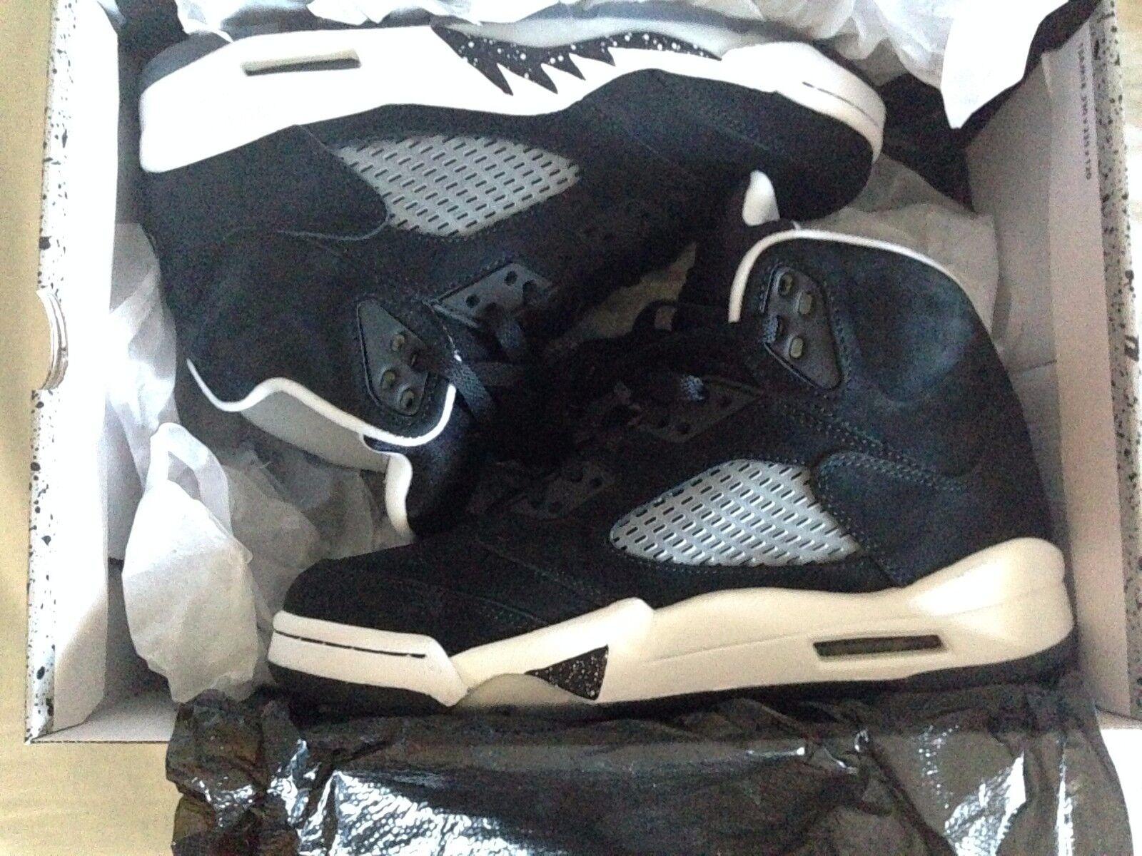 Nike Air Jordan 5 Retro Black Cool Grey-White 136027 035