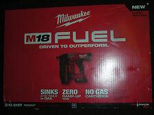 *NEW* Milwaukee 2741-21CT 18-Volt 16-Gauge FUEL Straight Finish Nailer Combo Kit