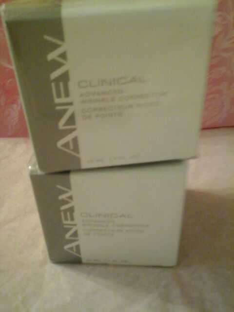 AVON ANEW CLINICAL Advanced Wrinkle Corrector -TWO WRINKLE CORRECTORS