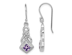 Natural-Square-Amethyst-Drop-Earrings-in-Sterling-Silver