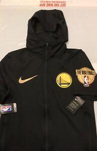 Détails sur Nike NBA Golden State Warriors 2018 finale Therma Flex Sweat à capuche NEUF avec étiquettes Med afficher le titre d'origine