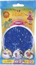 Hama - 207-36 Sacchetto 1000 perline bordo Blu neon