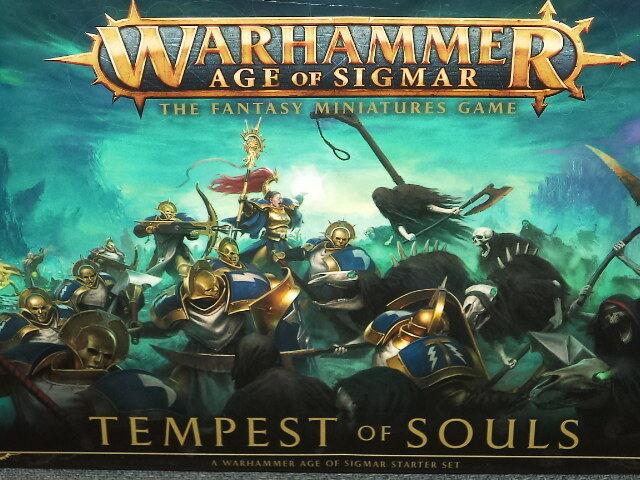 Tempest Of Souls Set Starter Warhammer Età di Sigmar Workshop Nuovo Modello