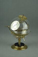 Vintage HUGER Weather Station Barometer Thermometer Art Deco Germany 50s 60s 70s