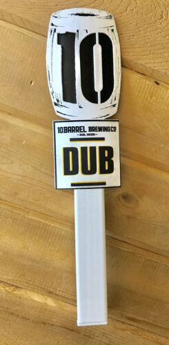 10 BARREL DUB IMPERIAL IPA AUTHENTIC DRAFT BEER TAP HANDLEKNOB