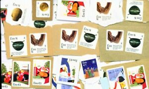 IRELAND-100-x-1-Euro-Unfranked-Stamps-on-Paper-100-Euros-FREE-Postage