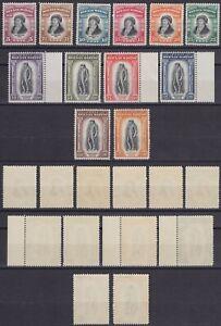 "San Marino 1935 ""Delfico"" n.193-204 nuova MNH**g.i. alti valori firma Bolaffi"