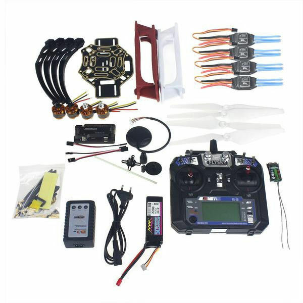 Full Drone GPS F02192-Y Transmitter Frame 4-axis APM Set Kit RC Aircraft -V2