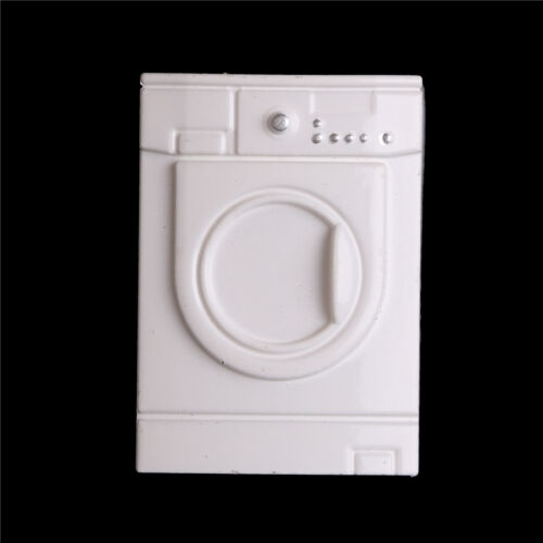 Mini Washer Dollhouse Accessory White Furniture Washing machine For    Hg
