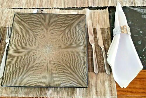 sat of 6 napkin holders dinning settings decor