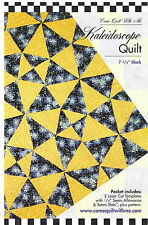 Acrylic Template ~ KALEIDOSCOPE ~ by Come Quilt With Me - 2 laser cut templates