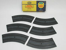 """AURORA MODEL MOTORING BOX OF 12"""" 1/8 CURVES ~ NOS ~ SUPER CLEAN ~ RACE READY!!"""
