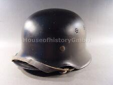 106151, Feuerschutzpolizei Stahlhelm M35/40, ohne Abzeichen, Feuerwehr