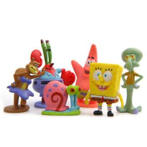 6PCS-SpongeBob-Squarepants-Patrick-Star-Squidward-Tentacles-Figure-Kids-Toy-Gift