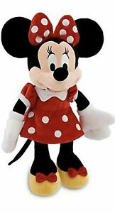 Disney-Store-Minnie-Mouse-Red-Polka-Dot-Plush-Toy-13-034-Doll-Brand-New-With-Tag