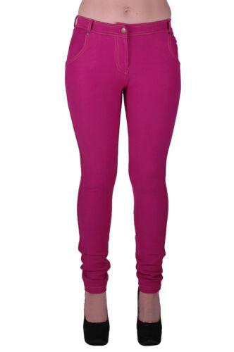 Mujer Elastizados Informal Cenido Ajustado Llanura Jeggings Calce Ajustado Pantalones Denim Jeans Itdc Pl