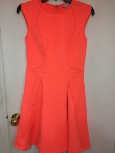 Orange Size 2 Ted 248 Baker Wispar Skater Dress U5RHqHw