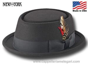 Caricamento dell immagine in corso Cappello-Porkpie-Be-Bop-New-York-Hat-Co- c07c13b4e57c