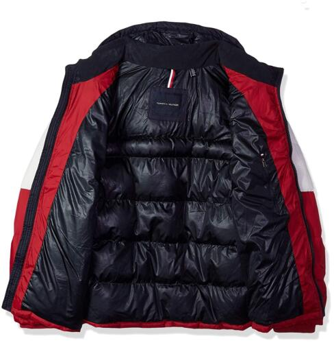Tommy Hilfiger Men/'s Ultra Loft Insulated Classic Hooded Puffer Jacket Coat