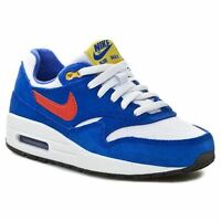 BOYS NIKE AIR MAX 1 (GS) Kids  Trainer Shoes Sneakers 555766 108