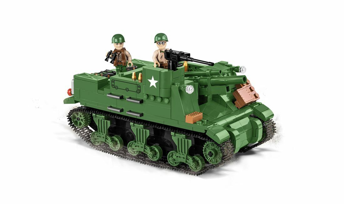 Construction Toy Small Army M7 Priest 105mm Hmc - American Howitzer