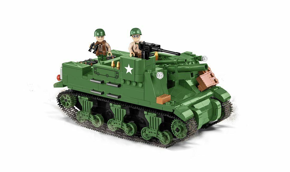 Construcción Juguete Pequeño Ejército M7 Priest 105mm Hmc - Americano Obús