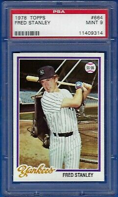 Baseball Card NM Yankees 1978 Topps # 664 Fred Stanley New York Yankees