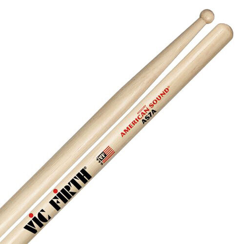 Vic Firth VF-AS7A American Sound 7A Round Wood Tip Drum Sticks
