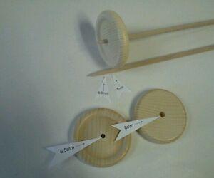 10x handspindel pour araignées de laine à tricoter fil