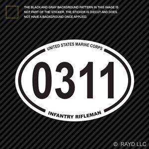 Image is loading United-States-Marine-Corps-MOS-0311-Infantry-Rifleman-