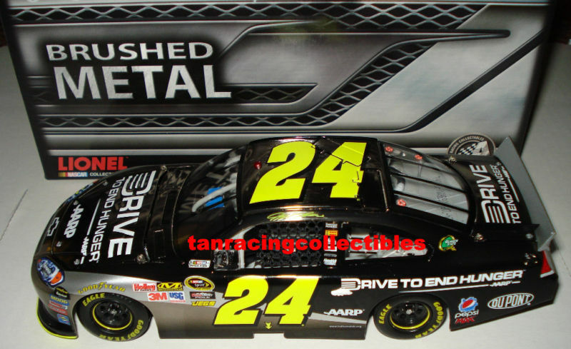 Jeff Gordon 2011 Lionel  24 Drive to End End End Hunger Brushed Metal 1 24 FREE SHIP  7acfc5