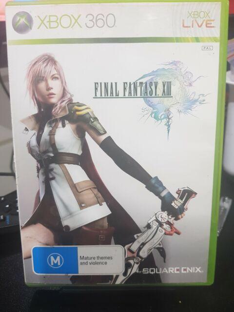 XBOX 360 GAME FINAL FANTASY XIII 8 - Free Postage