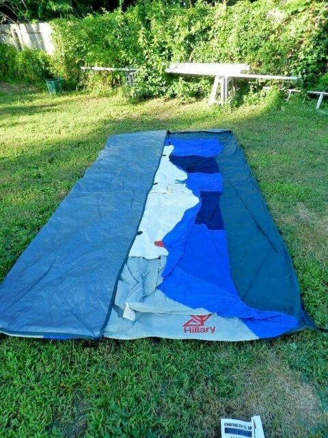 innovative design 9f39d c3d28 Vtg.SEARS HILLARY 10 X 14 CABIN TENT: NEVER USED..COMPLETE w/ Poles; Manual