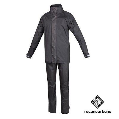 Completo Pantalone Tuta Antipioggia Tucano Urbano Set Diluvio Easy 566 Tg 4xl