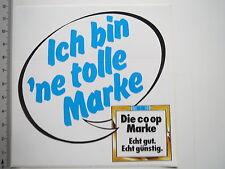 Aufkleber Sticker CO OP - Discount - Lebensmittel - 90er (M1925)