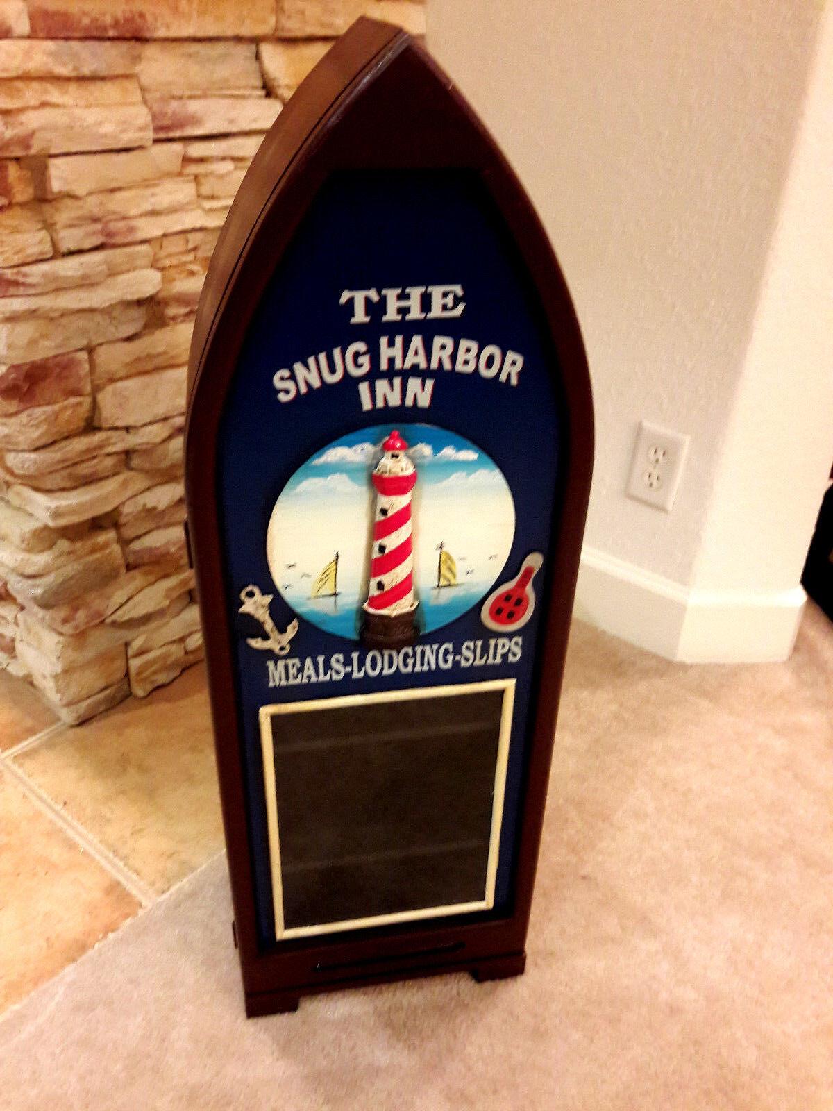 Lighthouse Snug Harbor Hand Made Display Cabinet Man Cave Gameroom