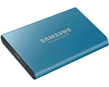 Artikelbild SAMSUNG Portable SSD T5 500 GB 2.5 Zoll Externe Festplatte Blau