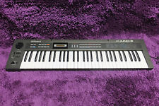 Vintage Roland α Juno-2 Alpha Synthesizer keyboard w/ Hardcase 170223
