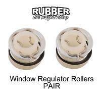 1958 Edsel Window Regulator Rollers Pair