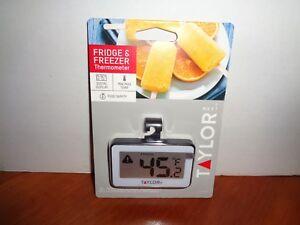 Taylor-Digital-Food-Service-Refrigerator-Freezer-Thermometer-Min-Max-Temperature