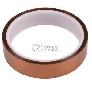 6mm 2cm X 30M 100ft Kapton Tape High Temperature Heat Resistant Polyimide