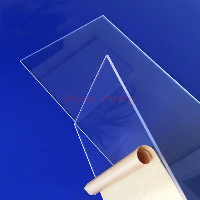 A3 420mmx297mm Acrylic PANELS Thick:1mm Clear Sheet Perspex//Altuglas Cut to Size