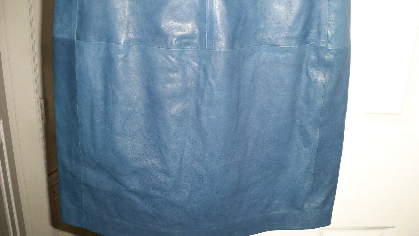 900 Vince Lambskin lightweight Leather Dress bluee 2 6 6 6 8 Absolutely GORGEOUS   85beb9