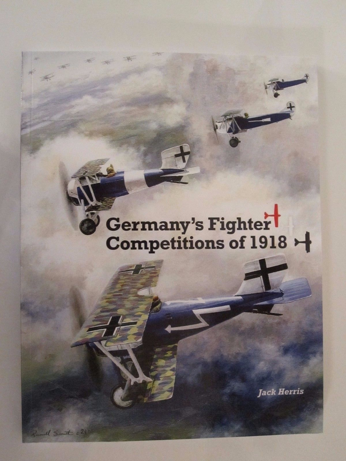 Germany's Fighter Competitions of 1918 - 65 Great color Profiles