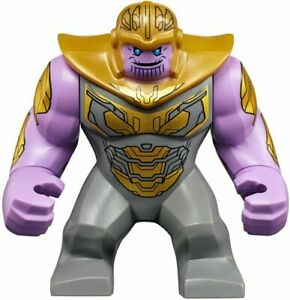 LEGO-Thanos-Big-Fig-with-Hammer-Marvel-Avengers-Endgame-sh576-76131-minifigure