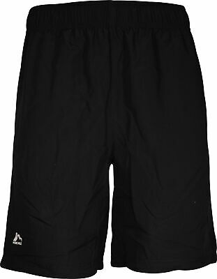 More Mile Weather Proof Mens Running Shorts Black Water Repellent Sports Short