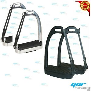 YNR-Brand-New-Peacock-Safety-Stirrups-Iron-Steel-Horse-Riding-Equestrian-Treads