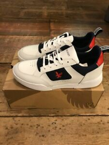 Lyle and Scott Gilzean Whit Navy and